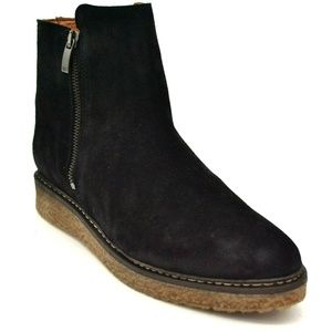 Eric Michael Women Hampton Suede Ankle Boots 9 New